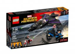 LEGO Marvel Super Heroes Pościg Czarnej Pantery 76047