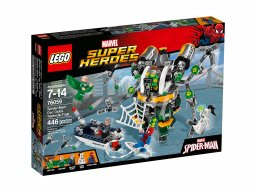 LEGO Marvel Super Heroes Spiderman: Pułapka z mackami Doc Ocka 76059