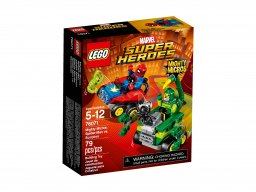 LEGO 76071 Spider-Man kontra Skorpion