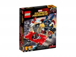 Lego 76077 Marvel Super Heroes Iron Man: Detroit Steel atakuje