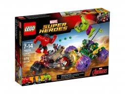 LEGO 76078 Marvel Super Heroes Hulk kontra Czerwony Hulk