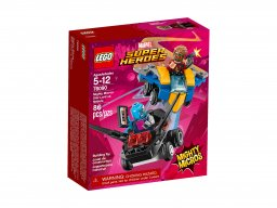 Lego Marvel Super Heroes Star-Lord vs. Nebula 76090