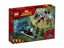 LEGO 76099 Marvel Super Heroes Pojedynek z nosorożcem w pobliżu kopalni