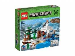 Lego 21120 Minecraft™ Śnieżna kryjówka
