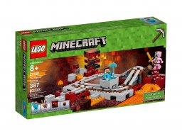LEGO Minecraft™ 21130 Linia kolejowa w Netherze
