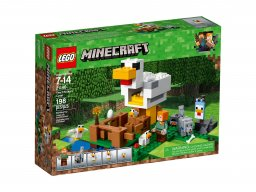 LEGO 21140 Minecraft Kurnik