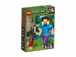 LEGO Minecraft™ BigFig 21148 Steve z papugą