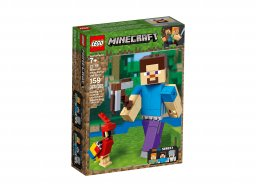 LEGO 21148 Steve z papugą