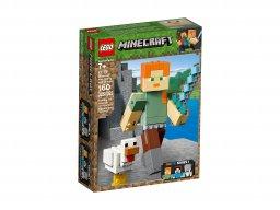 LEGO Minecraft™ BigFig Alex z kurczakiem 21149