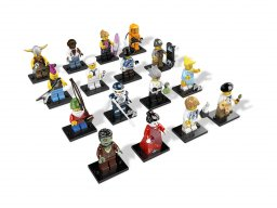 LEGO Minifigurki Seria 4 8804