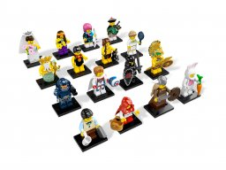 LEGO 8831 Minifigurki Seria 7