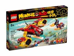 LEGO Monkie Kid™ 80008 Odrzutowiec Monkie Kida