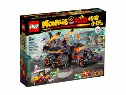 LEGO Monkie Kid Piekielny pojazd Red Sona 80011