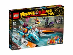 LEGO Monkie Kid™ Motorówka Sandy'ego 80014