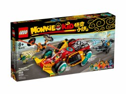 LEGO 80015 Monkie Kid Chmurkowy roadster Monkie Kida