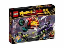 LEGO 80018 Monkie Kid Podniebny motocykl Monkie Kida