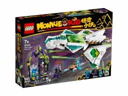 LEGO Monkie Kid 80020 Odrzutowiec Biały Smok