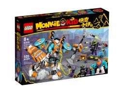 LEGO Monkie Kid 80025 Mocarny mech Sandy'ego