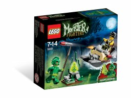 LEGO Monster Fighters 9461 Stwór z bagien