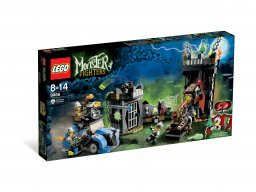 LEGO 9466 Monster Fighters Szalony profesor i jego potwór