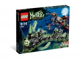 LEGO 9467 Monster Fighters Pociąg widmo