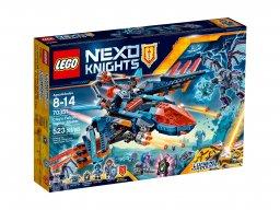 LEGO Nexo Knights™ 70351 Blasterowy myśliwiec Clay'a