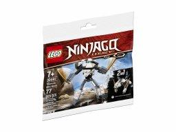 LEGO Ninjago Tytanowy minimech 30591