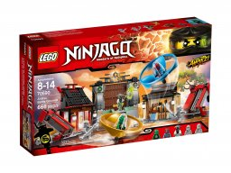 LEGO Ninjago® Plac bitewny airjitzu 70590