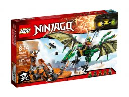 LEGO Ninjago 70593 Zielony smok NRG
