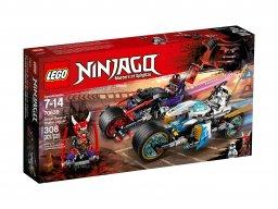 LEGO Ninjago® Wyścig uliczny Wężowego Jaguara 70639