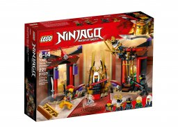 Lego Ninjago® 70651 Starcie w sali tronowej