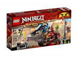 LEGO Ninjago® Motocykl Kaia i skuter Zane'a 70667