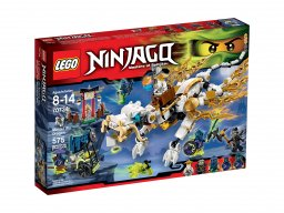 LEGO 70734 Ninjago Smok mistrza Wu