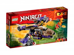 LEGO 70746 Ninjago Atak śmigłowca Condrai