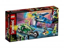 LEGO Ninjago® 71709 Wyścigówki Jaya i Lloyda