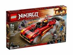 LEGO 71737 Ninjago® Ninjaścigacz X-1