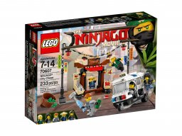 LEGO Ninjago® Movie™ Pościg w NINJAGO® City 70607