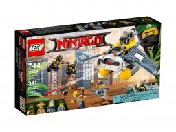 Lego Ninjago® Movie™ Bombowiec Manta Ray