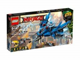 LEGO 70614 Ninjago® Movie™ Odrzutowiec Błyskawica