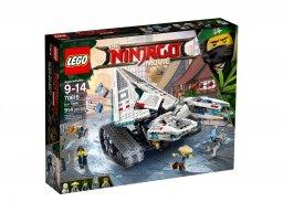 Lego Ninjago® Movie™ Lodowy pojazd pancerny