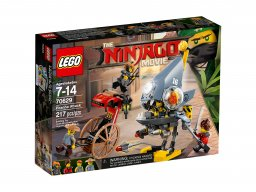 LEGO Ninjago® Movie™ Atak Piranii