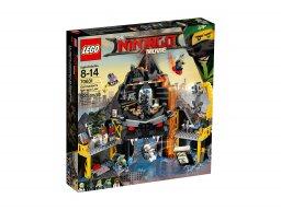 Lego 70631 Ninjago® Movie™ Wulkaniczna kryjówka Garmadona