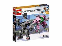 LEGO Overwatch® 75973 D.Va & Reinhardt