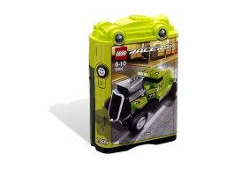 LEGO 8302 Racers Tiny Turbos Jeździec Hot Rod