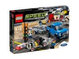 LEGO 75875 Speed Champions Ford F-150 Raptor i Ford Model A Hot Rod