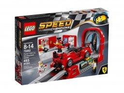 LEGO 75882 Speed Champions Ferrari FXX K i centrum techniczne