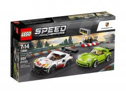 LEGO Speed Champions Porsche 911 RSR i 911 Turbo 3.0 75888