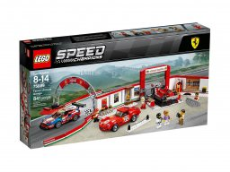LEGO Speed Champions Rewelacyjny warsztat Ferrari 75889