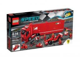 Lego 75913 Speed Champions Ciężarówka F14 T & Scuderia Ferrari