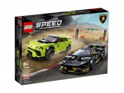 LEGO Speed Champions 76899 Lamborghini Urus ST-X i Lamborghini Huracán Super Trofeo EVO
